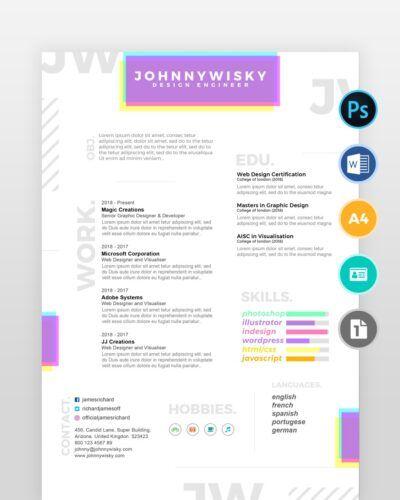 Artistic-Resume-Template2 - by printableresumes.com