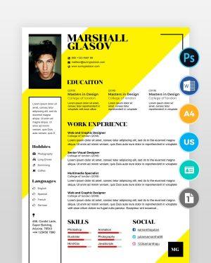 Beginner-Designer-Resume-Template2 - by printableresumes.com
