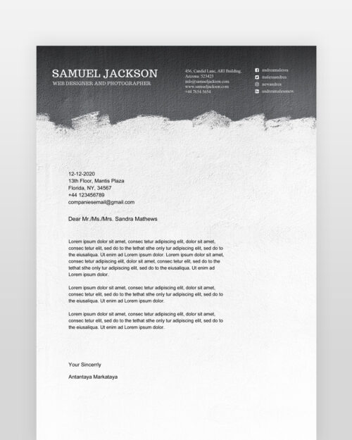 Black-and-White-Resume-Template_cl - by printableresumes.com