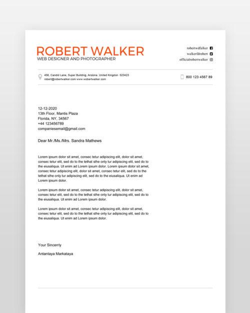 Clean-Graphic-Designer-Resume_cl - by printableresumes.com