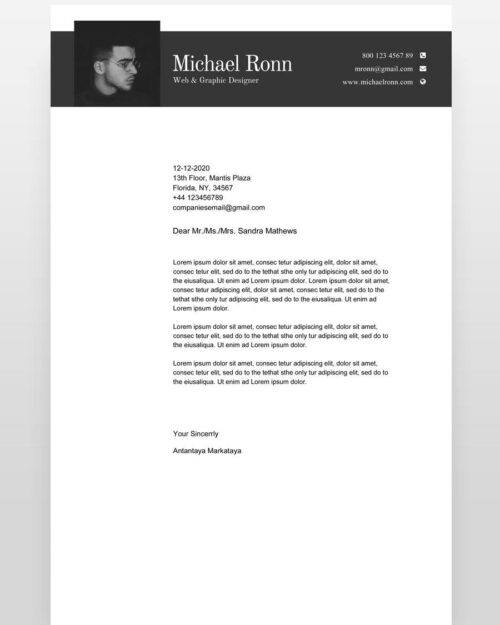 Clean-Minimal-Resume-Template_cl - by printableresumes.com