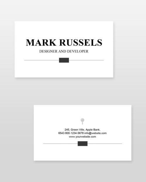 Clean Professional Resume_bc - by printableresumes.com