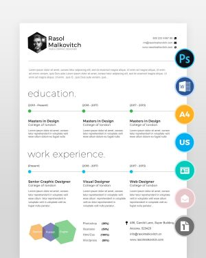 Clean-Web-Designer-Resume2 - by printableresumes.com