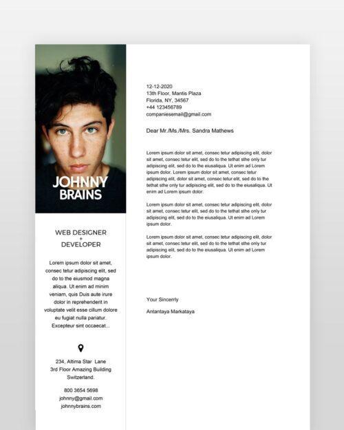 Clean-and-Minimal-Designer-Resume_cl - by printableresumes.com