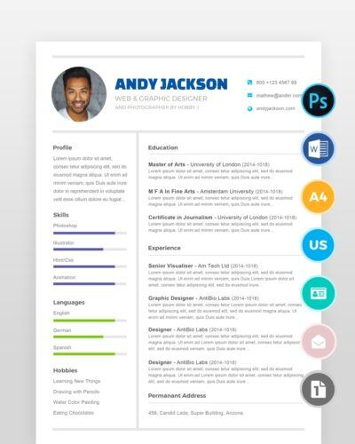 Clean-and-Neat-Professional-Resume2 - by printableresumes.com