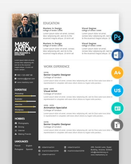 Creative-Designer-Resume2 - by printableresumes.com