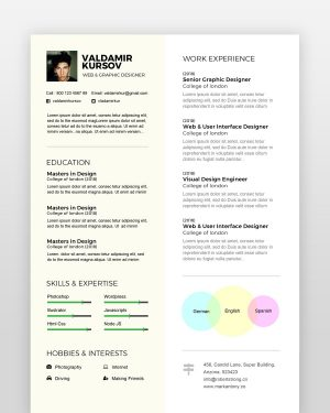 Creative-Graphic-Designer-Resume - by printableresumes.com