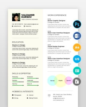 Creative-Graphic-Designer-Resume2 - by printableresumes.com