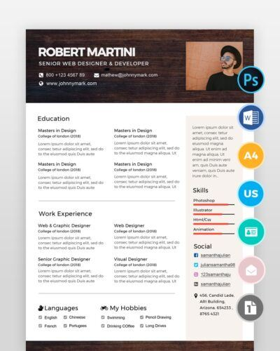 Creative-Resume-Template2 - by printableresumes.com