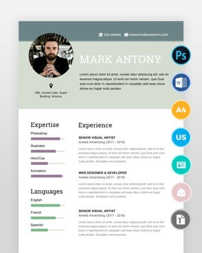 Designer-Resume-Template2 - by printableresumes.com