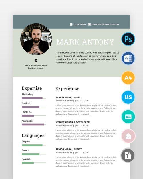 Designer-Resume-Template2 - by printableresumes.com