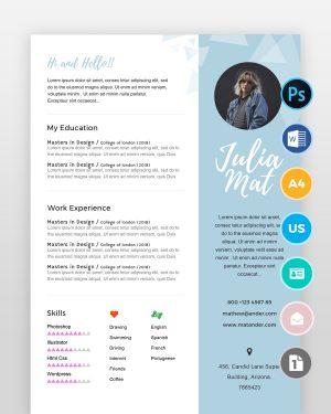 Designer-Resume2 - by printableresumes.com