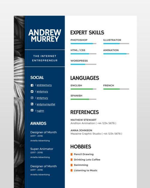 Experienced-Designer-Resume_2 - by printableresumes.com