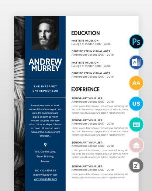 Experienced-Designer-Resumeover - by printableresumes.com