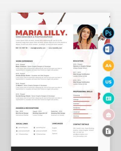 Experienced-Graphic-Designer-Resume_2 - by printableresumes.com