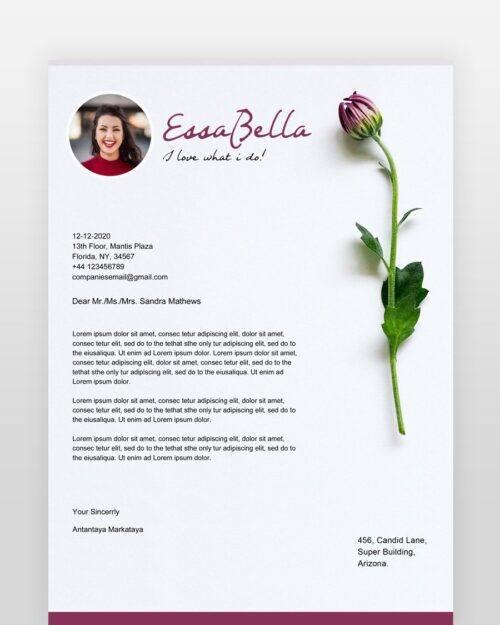 Florist-Resume-Template - by printableresumes.com