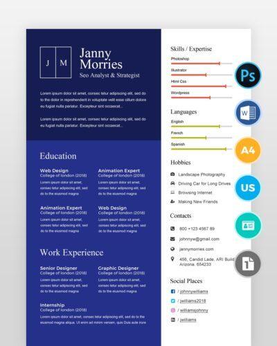 Graphic-Designer-Resume-Template2 - by printableresumes.com