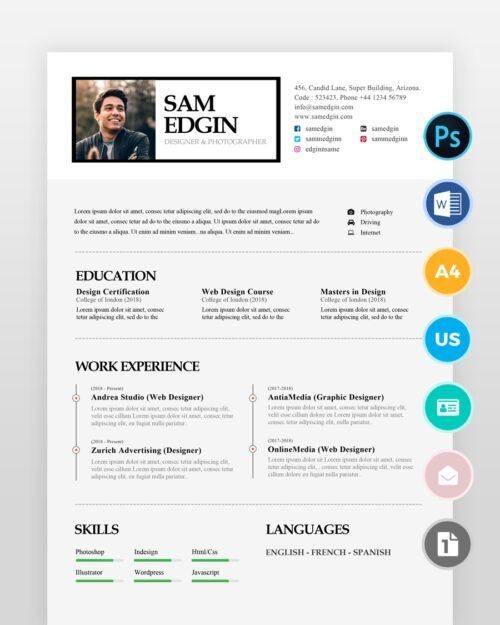Graphic-Designer-Resume_2 - by printableresumes.com
