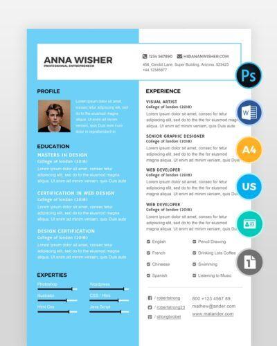 Minimal-Resume-Template2 - by printableresumes.com