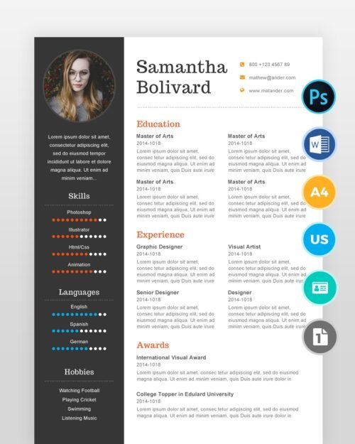 Modern-Professinoal-Designer-Resume2 - by printableresumes.com