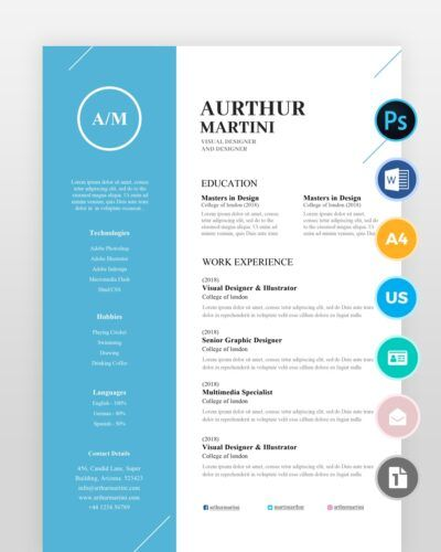 Modern-Simple-Designer-Resume2 - by printableresumes.com