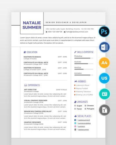 Modern-Simple-Resume-Template2 - by printableresumes.com