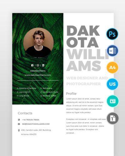 Modern-Web-Designer-Resume_3 - by printableresumes.com