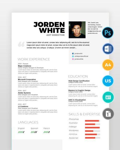 Modern-and-Simple-Designer-Resume2 - by printableresumes.com