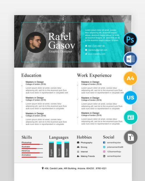 Multi-Purpose-Resume-Template2 - by printableresumes.com