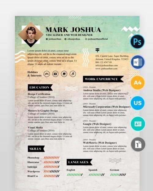 Newspaper-Style-Designer-Resume2 - by printableresumes.com