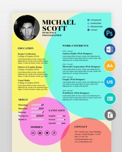Old-Style-Designer-Resume2 - by printableresumes.com
