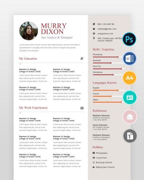 SEO-Analyst-Resume2 - by printableresumes.com