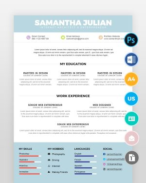 Simple-Accountant-Resume-Template2 - by printableresumes.com
