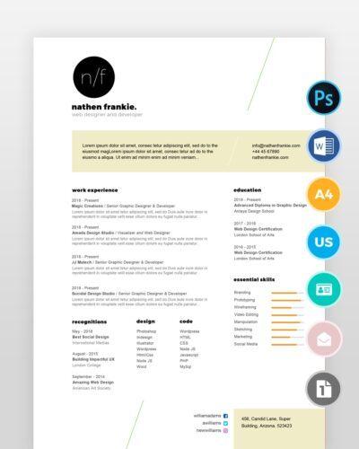 Simple-Designer-Resume2 - by printableresumes.com