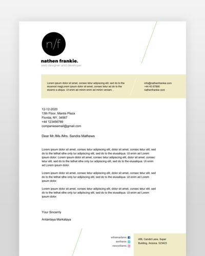 Simple Designer Resume - by printableresumes.com
