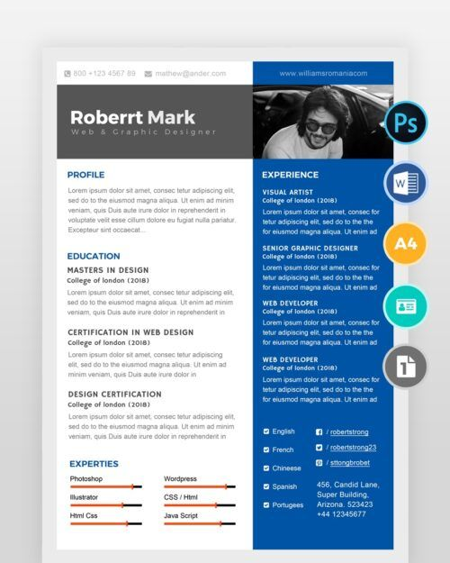Simple-Multipurpose-Resume-Template2 - by printableresumes.com