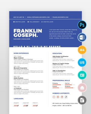 Coder-Resume-Template - by printableresumes.com