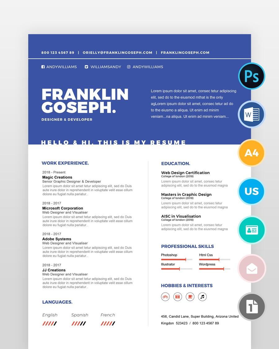 Coder-Resume-Template - by printableresumes.com