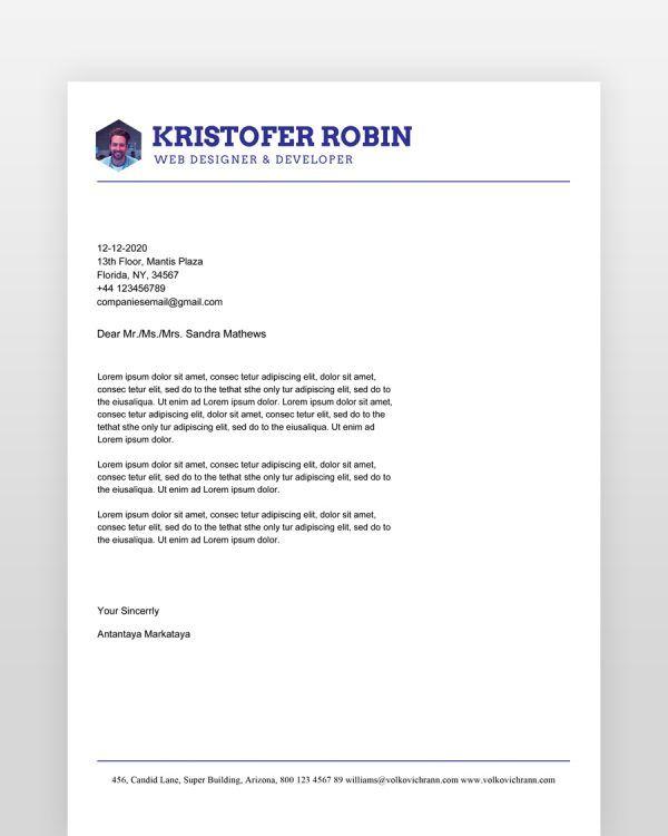 Orange-Blue-Minimal-Resume_cover - by printableresumes.com