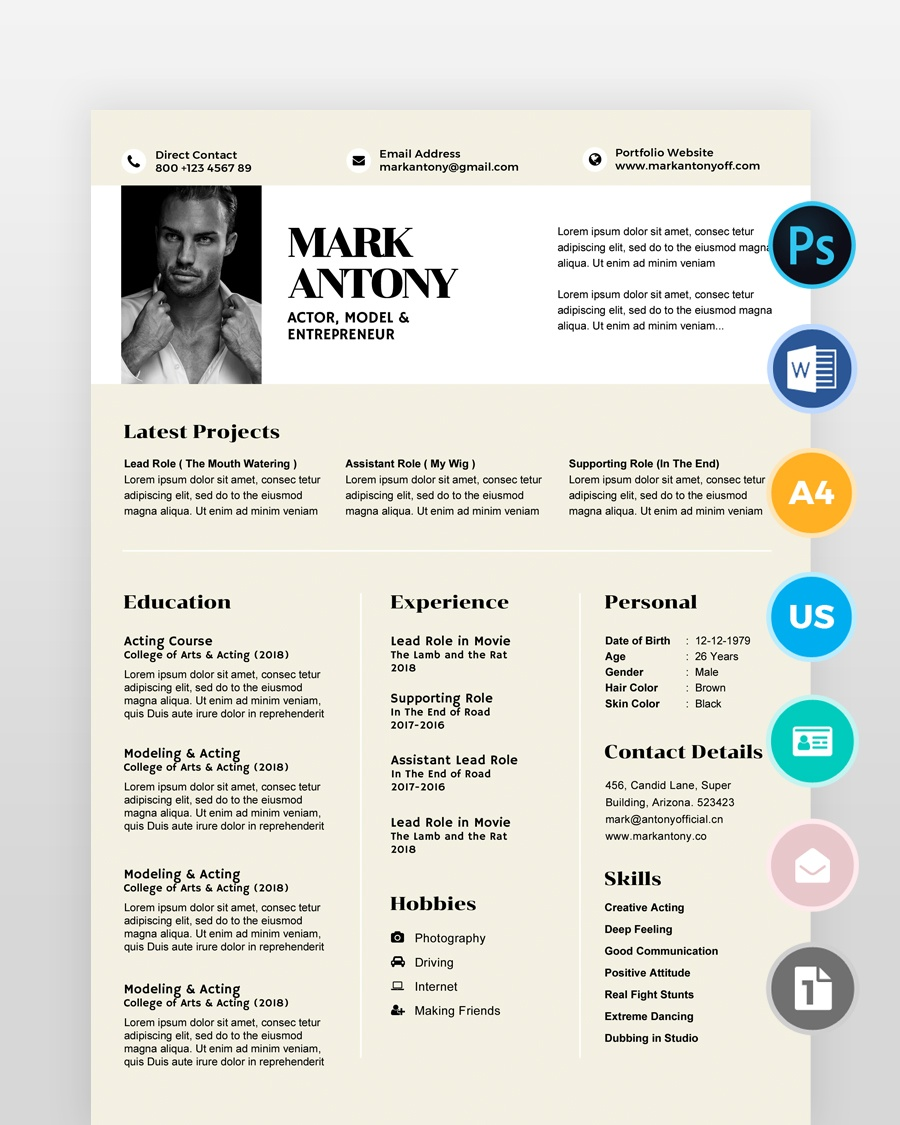 Professional-Graphic-Designer-Resume - by printableresumes.com