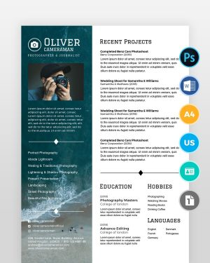 Professional-Photographer-Resume - by printableresumes.com