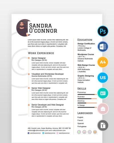 Simple-Clean-and-Minimal-Resume - by printableresumes.com