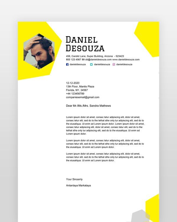Simple-Designer-Resume-Template_ - by printableresumes.com