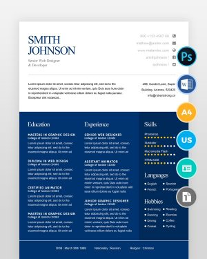 Simple-Resume-Template2 - by printableresumes.com