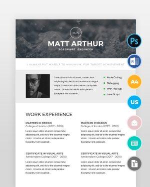Simple-Software-Engineer-Resume - by printableresumes.com