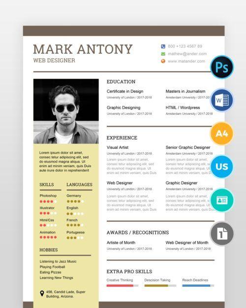 Simple-Web-Designer-Resume2 - by printableresumes.com