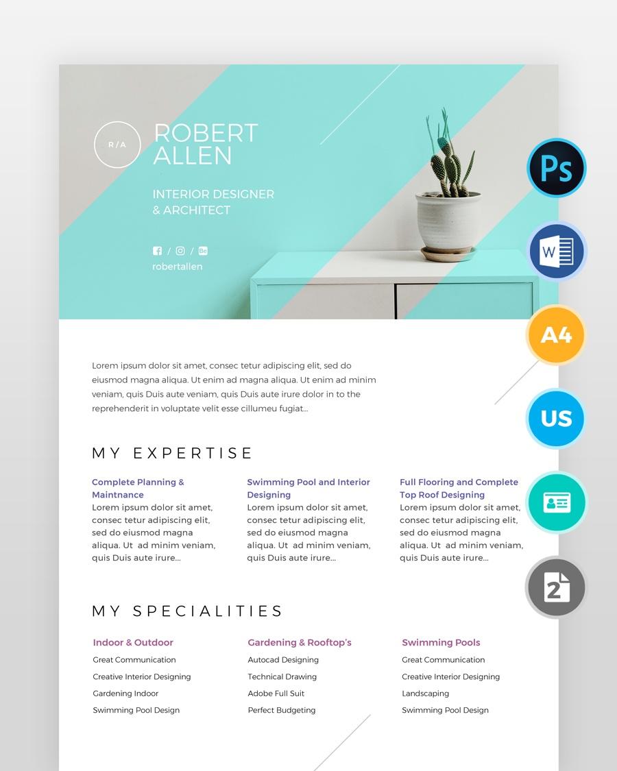 Two-Page-Designer-Resume_2 - by printableresumes.com
