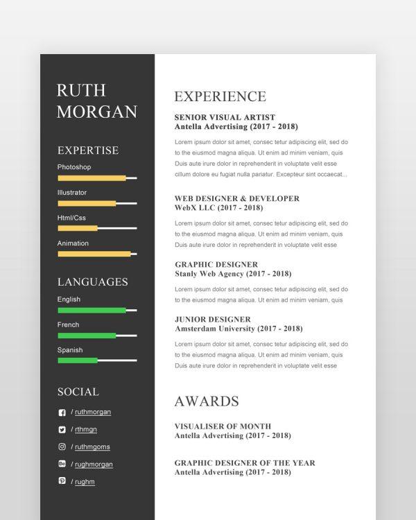 Web-Designer-Resume-2-Pages2 - by printableresumes.com