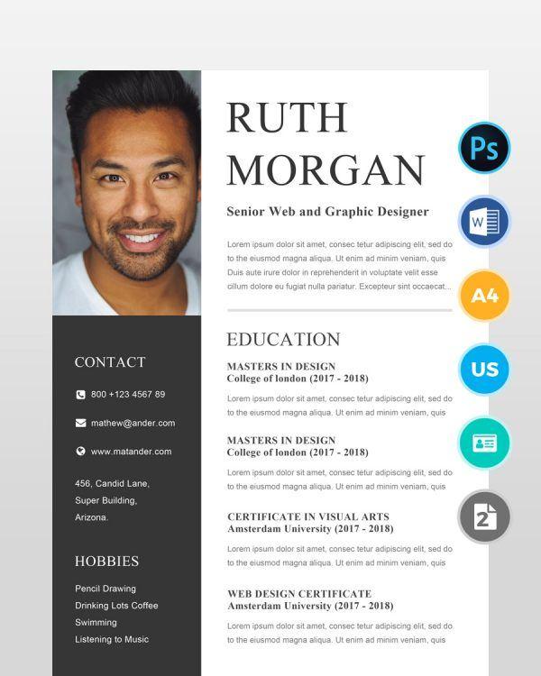 Web-Designer-Resume-2-Pages - by printableresumes.com