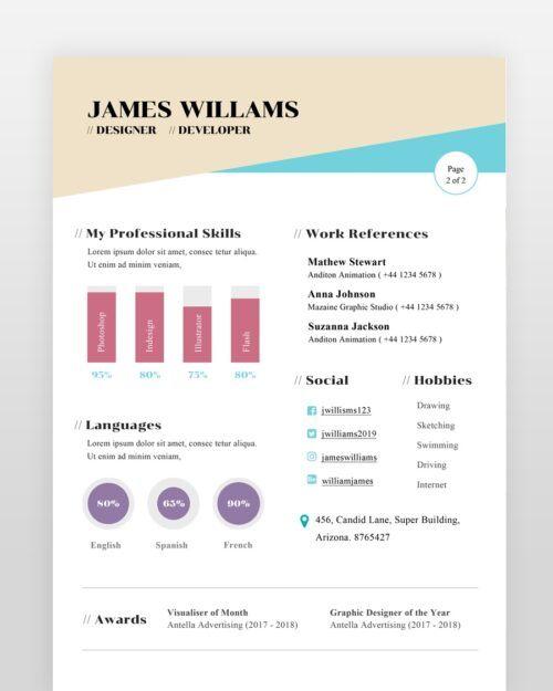 Web-Designer-Resume-Template2 - by printableresumes.com